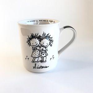 Children of the Inner Light Sister Hug Coffee Cup